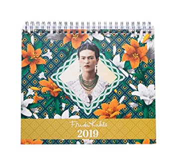 Amazon.com : Grupo Erik editores cs19019 - 2019 Frida Kahlo ...