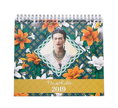 2019 frida kahlo wall calendar english and spanish edition