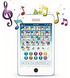 Boxiki kids Tablet Phone per Bambini con 6 Giochi educativi interattivi Tablet per Numeri di apprendimento, Alfabeto, ortografia, Gioco, Melodie   Giocattolo educativo