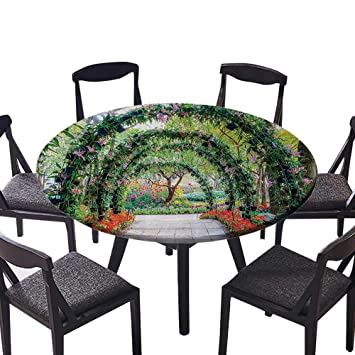 Amazon Luxury Round Table Cloth For Home Use Flower Arches With
