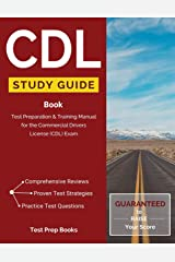 CDL Study Guide Book: Test Preparation & Training Manual for the Commercial Drivers License (CDL) Exam: (Test Prep Books) Paperback