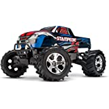 Traxxas Stampede 4X4: 1/10 Scale 4wd Monster Truck with TQ 2.4GHz Radio, Blue