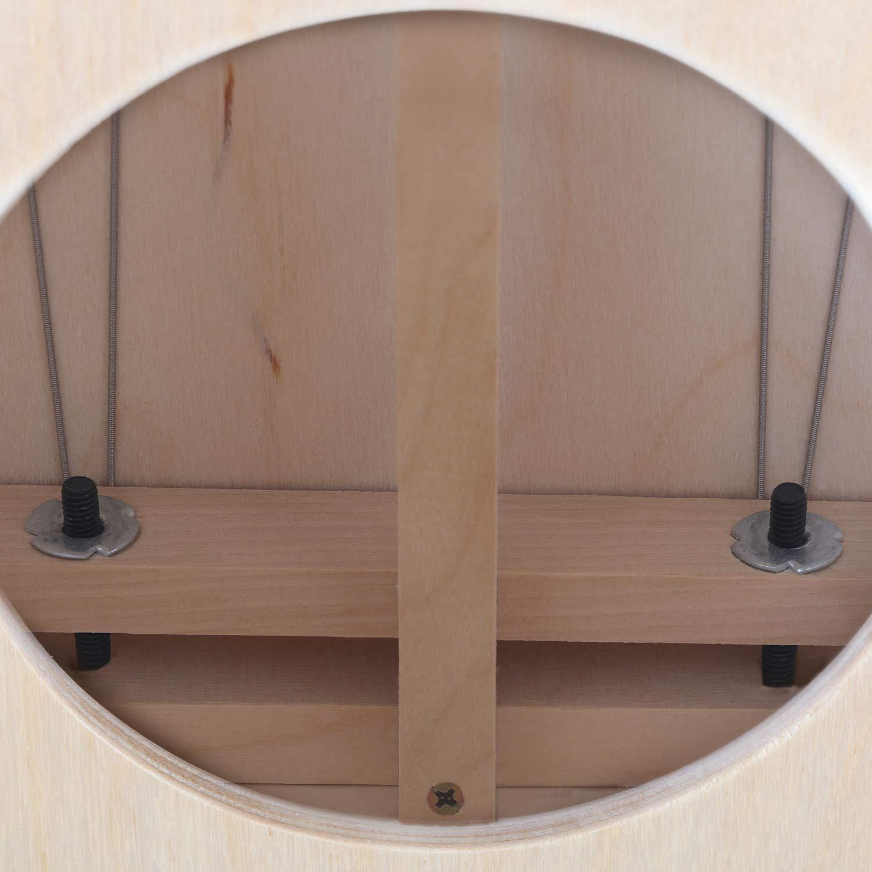 Moukey Kids Cajon DCD-1K Wooden Small Mini Cajon Drum Box with Bag, Birchwood Percussion String by Moukey (Image #5)