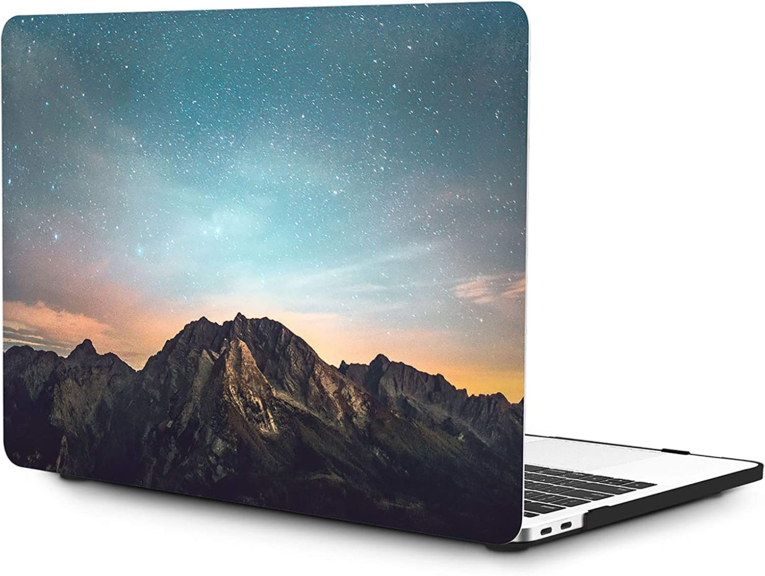 OneGET MacBook Pro 13 Inch Case with Touch Bar Laptop Case MacBook Pro13 2016-2019 Release A2159 A1989 A1706 A1708 MacBook Cover for Cute MacBook Pro Case 13 Hard Shell Shooting Stars (S3)