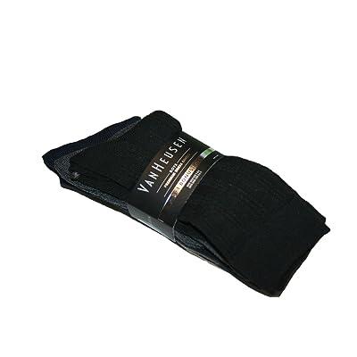 VanHeusen Boys Premium Dress Socks 3+1 Bonus Pack (Size: 7-8.5)