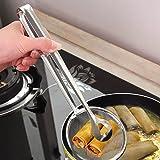 Cuchara Multifuncional con Filtro de Acero Inoxidable con Clip para Alimentos Cocina Acero Inoxidable Desnatadoras para…
