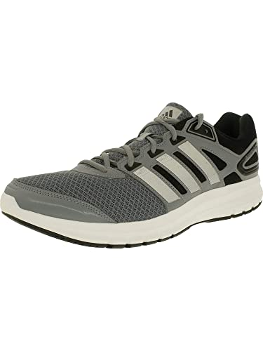 e2229607eacf2 adidas Men s Duramo 6 Tech Grey Metallic Silver Running White Low Top  Synthetic Running