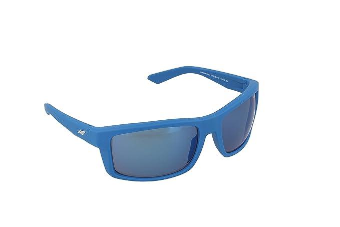 5b70e9853d Arnette CORNER MAN 4216 233355 61 Frame plastic Matte Blue lenses Blue  mirror Sp  Arnette  Amazon.co.uk  Clothing