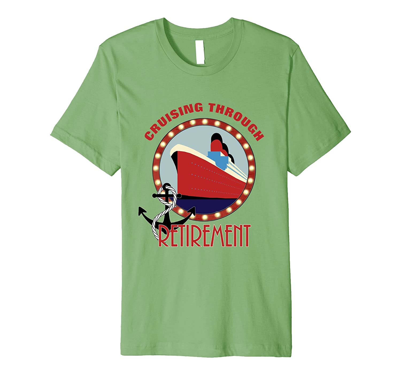 Cruise Ship Nautical Retirement Themed Novelty T-Shirt