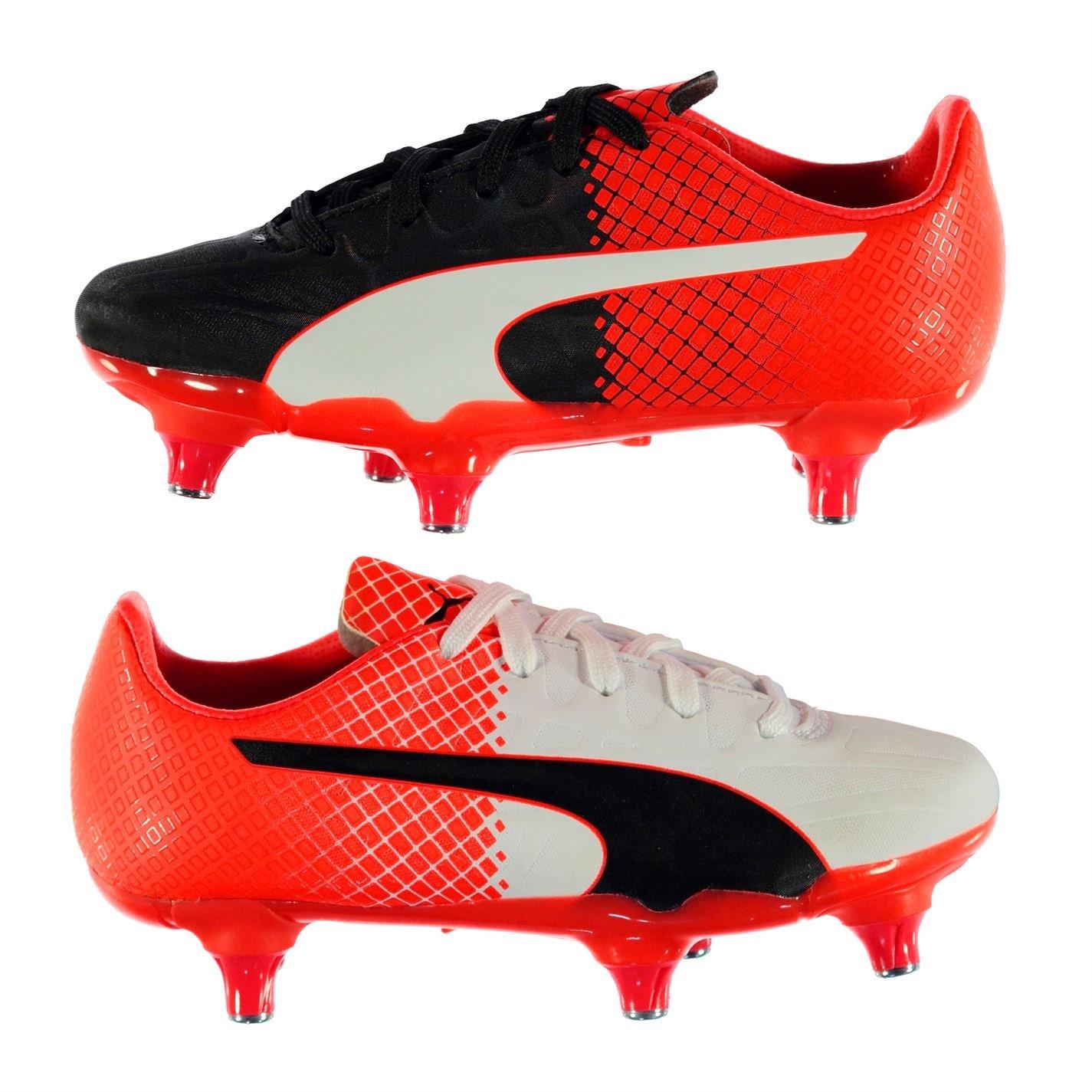 Puma Evospeed 4 SG Kinder Fussball Schuhe Stollen Stollenschuhe Sportschuhe