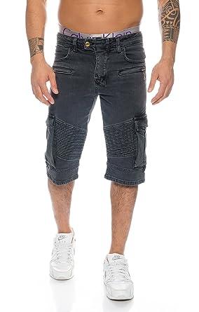 46533883ca4f3 Rock Creek Herren Jeans Bermuda Hose Shorts Sommer Hose Bikerhose Chino  LL-388