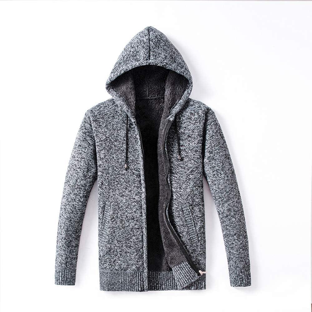 Siviki Men Hoodie,Zipper Fleece Sweater Blouse Coat Lightweight SportHalloween Long Sleeve Sweatshirt Pullover
