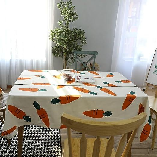 Europea pastoral zanahoria mantel creativo vegetales manteles de ...