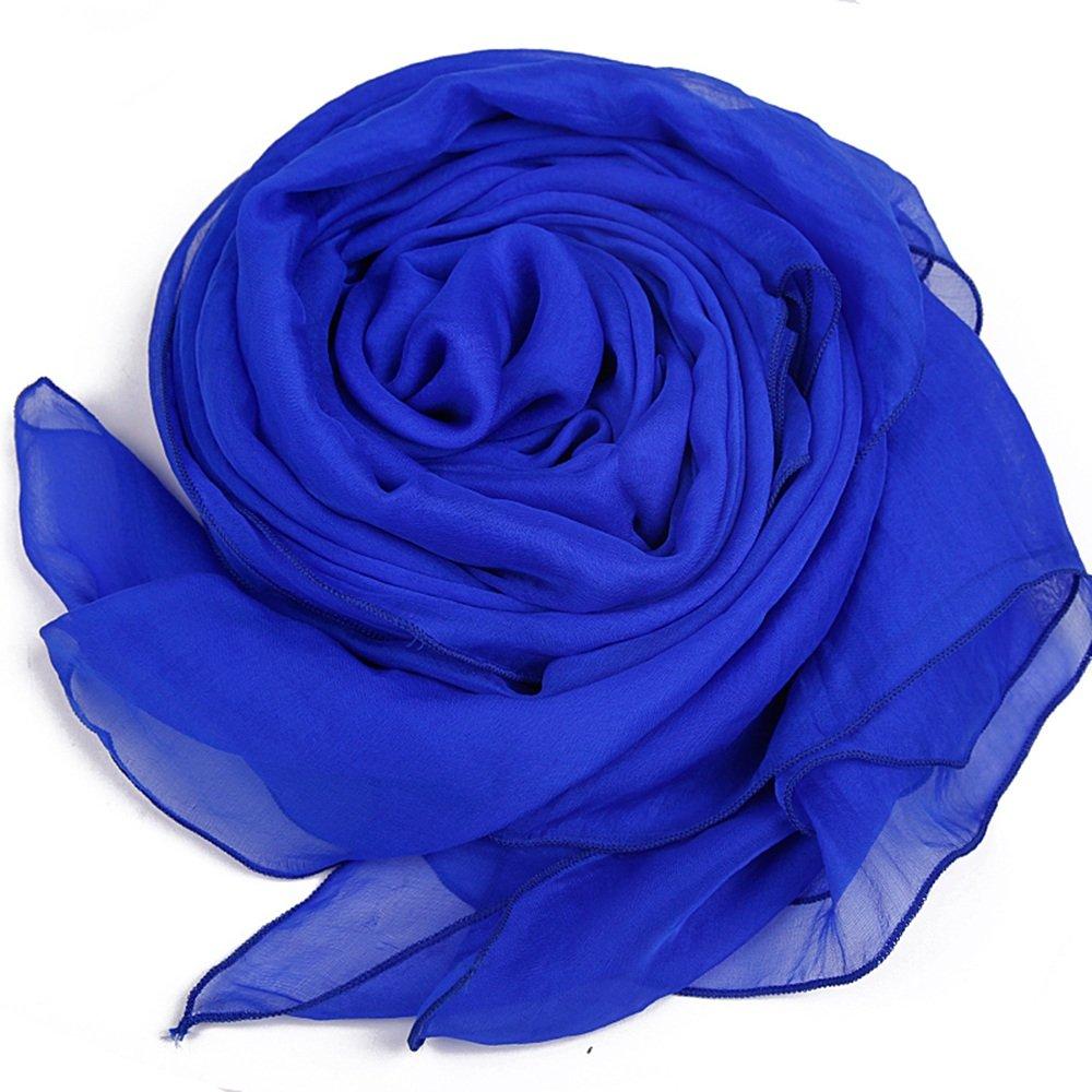 FUFU Sciarpa Sciarpa di seta femminile 100% di seta e sciarpa in seta invernale sciarpa rettangolo 1...