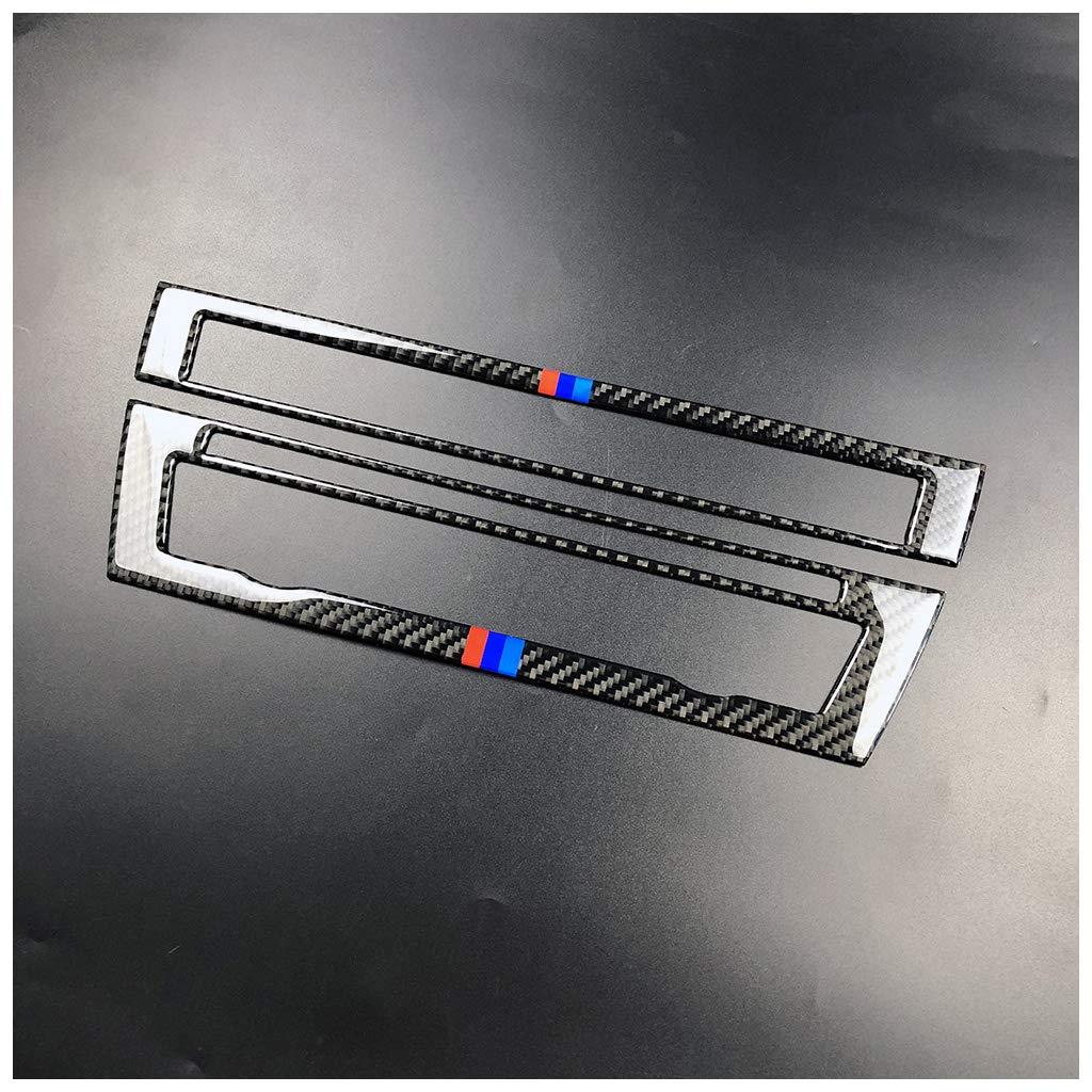 Carbon Fiber Dashboard Interior Decoration Decal Frame Cover Trim Sticker for BMW 5 Series F10 F11 F07 F18 2011-2017 RRX Interior Front Reading Light Frame Trim 5YD
