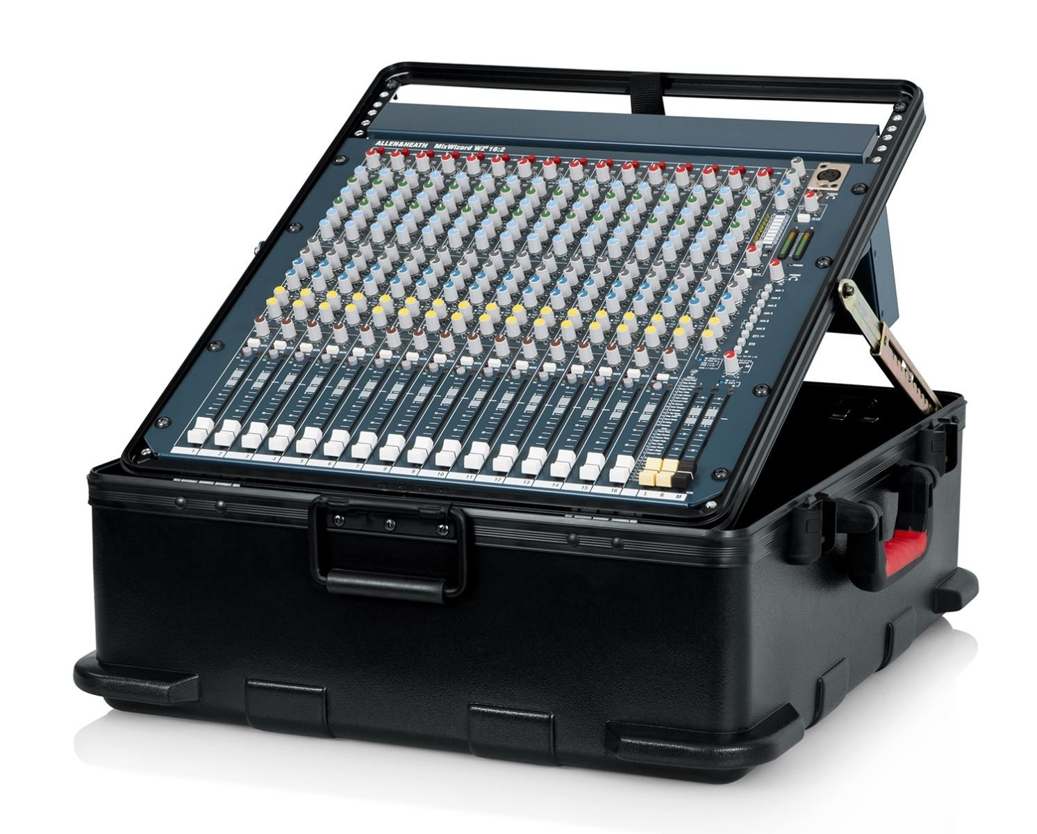 Gator Cases GTSA-MIX12PU Molded Pop Up Mixer Case, 12U