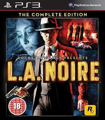 Take-Two Interactive L.A. Noire - Juego (PS3, PlayStation 3, Acción / Aventura, M (Maduro)): Amazon.es: Videojuegos
