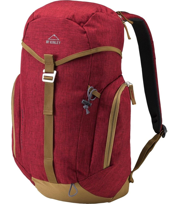 McKinley spantik - Mochila de Senderismo, Color Rojo/marrón, tamaño 24: Amazon.es: Deportes y aire libre