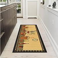 Ottomanson Siesta Collection Kitchen Chef Design Runner Rug
