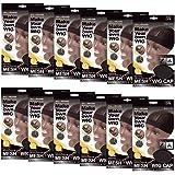 (12 Pack) Qfitt - Mesh Dome Style Wig Cap #5011