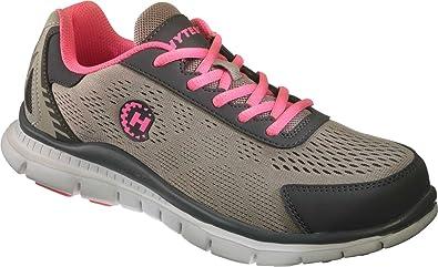 Grey/Pink Steel Toe EH Runner