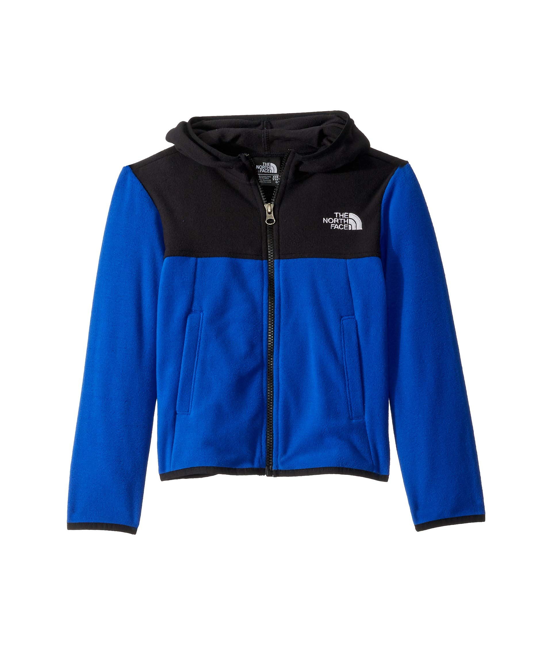 The North Face Kids Boy's Glacier Full Zip Hoodie (Little Kids/Big Kids) TNF Blue Medium