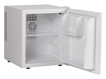 Mini Kühlschrank Mit Thermostat : Finebuy mini kühlschrank liter minibar weiß getränkekühlschrank