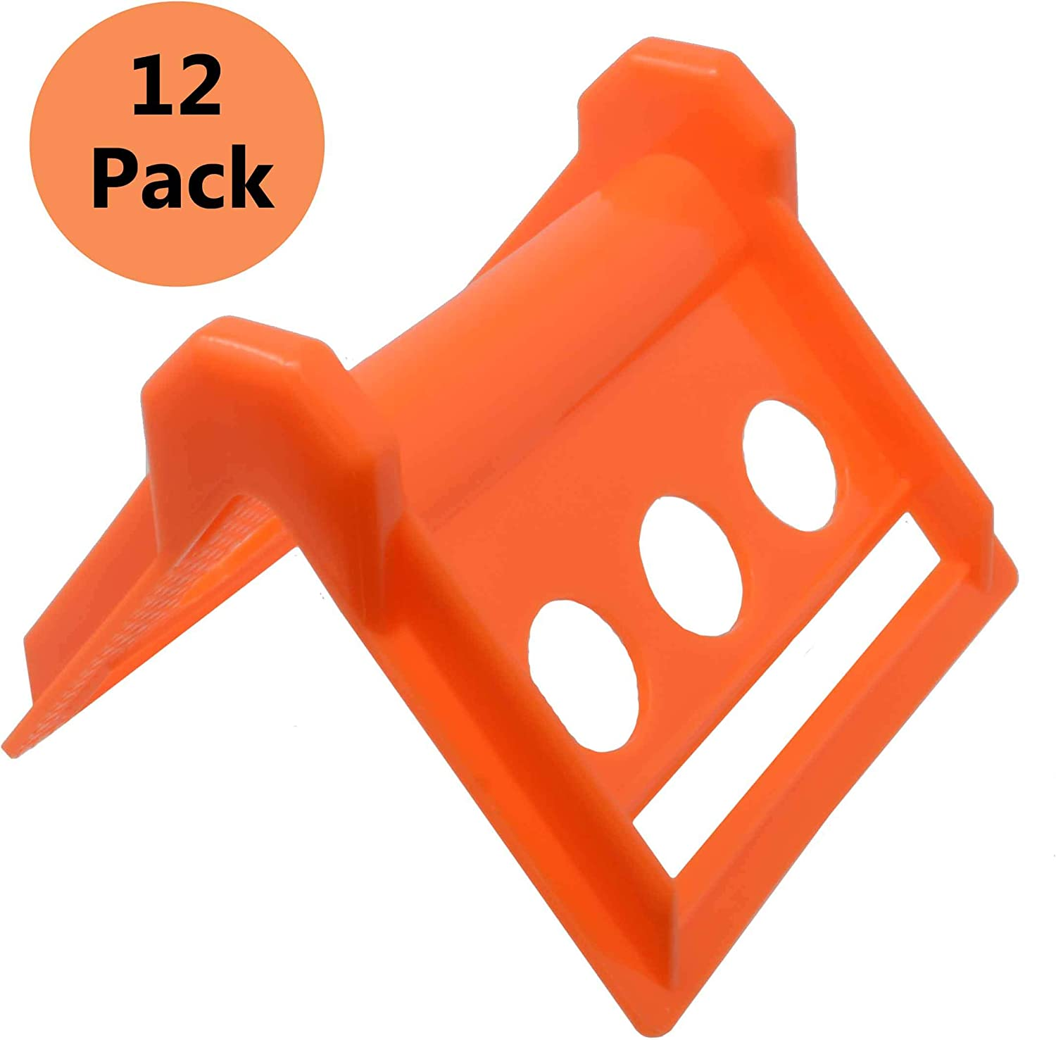 Vee Boards Load Protectors Pallet Edge Protector Corners Guard The Cargo and Straps from Damage or Wear in Shipping Flatbed Strap Corner Protectors 12 Pack Tie Down Strap Protectors