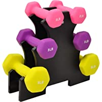 BalanceFrom Dumbbell Set with Stand