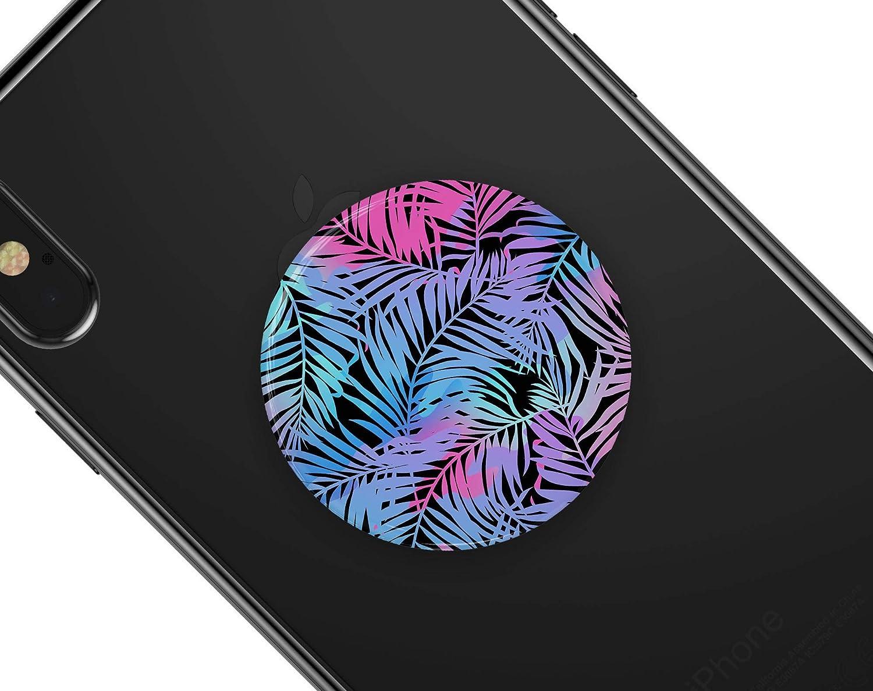 DesignSkinz Premium Decal Sticker Skin-Kit for PopSockets Smartphone Extendable Grip /& Stand Chromatic Safari