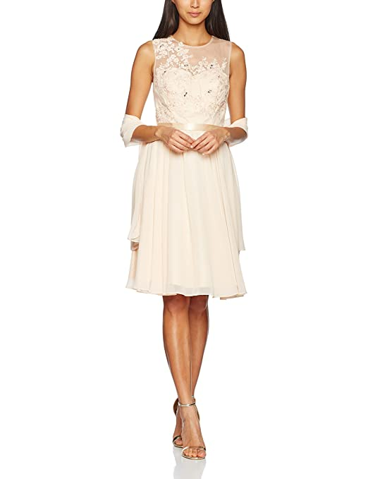 Womens Lace Placement Dress Mascara tyDAE