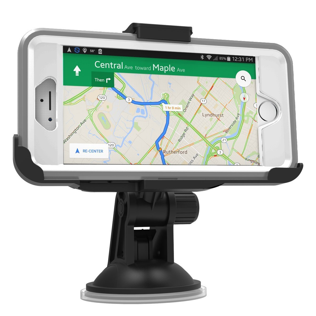 OtterBox Defender Case Encased Car Mount for iPhone 6 Plus Compatible with Otterbox Defender case ONLY 5.5 Encased for Otterbox Defender