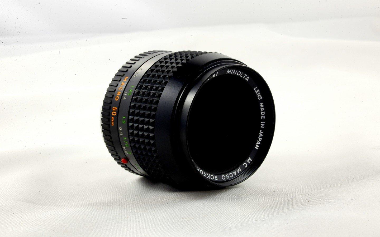 50mm f/3.5 Minolta MD-Mount Manual Focus Prime Lens MIN_50-3.5-MD