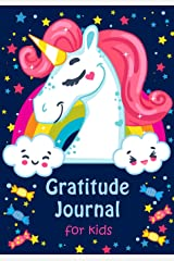 Gratitude Journal for Kids: Girl Unicorn 90 Days Daily Writing Today I am grateful for... Children Happiness Notebook (Volume 5) Paperback