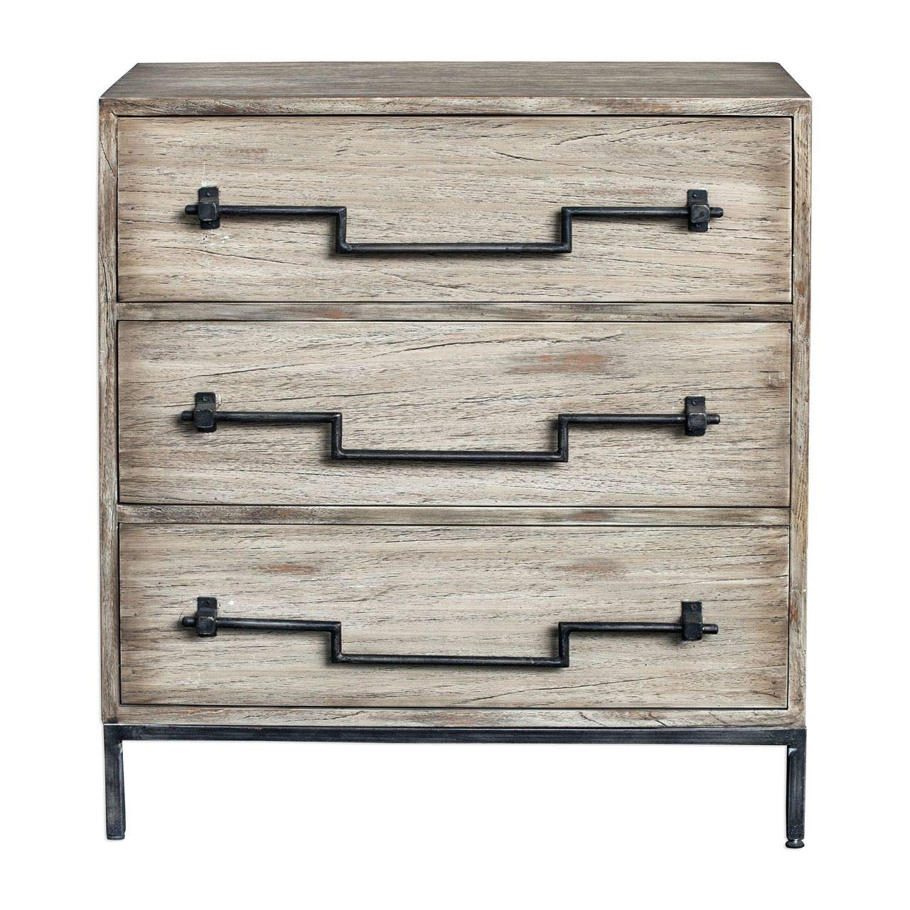 Uttermost Accent Chest in Aged Ivory Finish by Uttermost