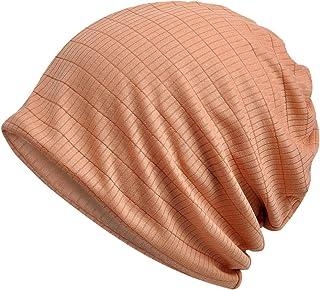 SOTGUS Women Stylish Thin Soft Sleep Hat Stretch Beanie Cap