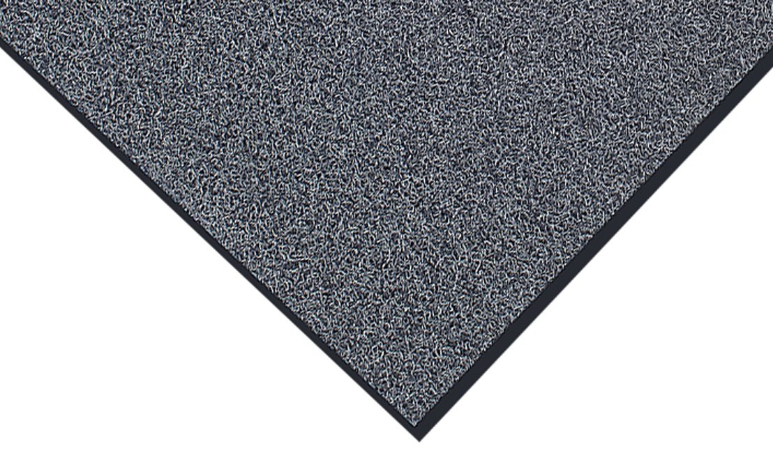 Durable DuraLoop Dual Color Indoor Outdoor Entrance Mat, 48 x 480 , Black with Gray