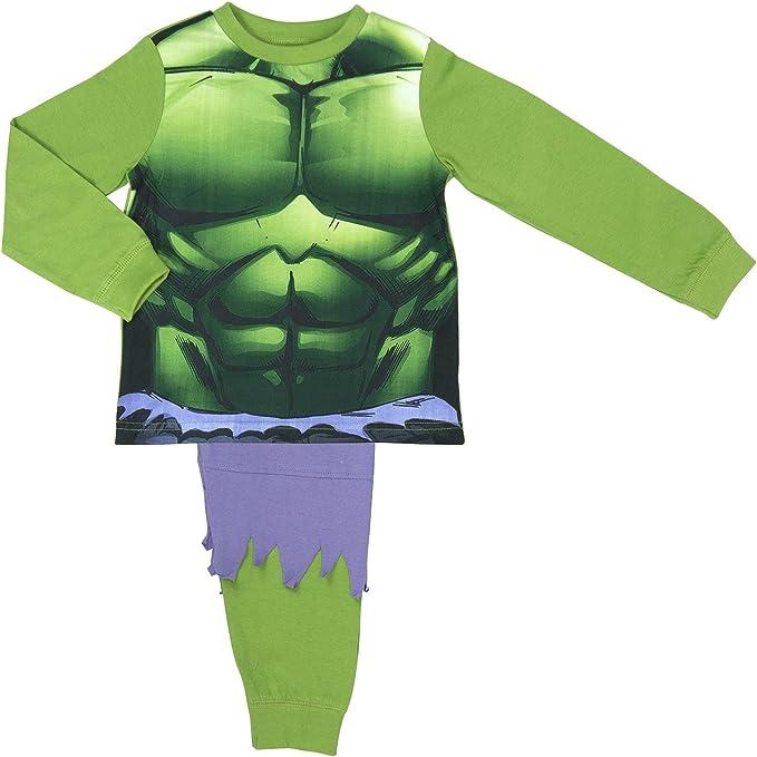 Amazon.com: Disney Incredible Hulk - Pijama para niños con ...