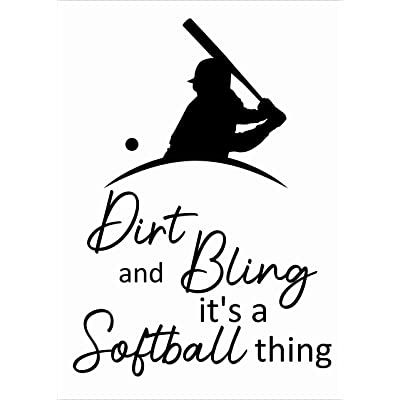 "Stick and Peel Kids Bedroom Living Room Decoration | 20"" x 28"" DIY Baseball Wall Art Decal Design 