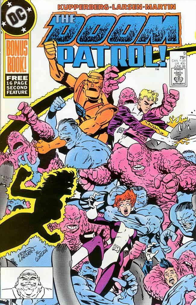 Amazon Com Doom Patrol 2nd Series 9 Fn Dc Comic Book