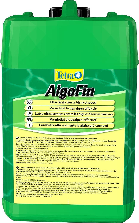 Tetra Pond Algofin - Anti Algue de Référence pour Bassin de Jardin ...