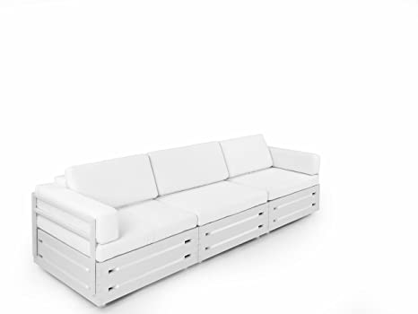 Wondrous Amazon Com Slim Furniture Configurable 3 Module Sofa Set Short Links Chair Design For Home Short Linksinfo