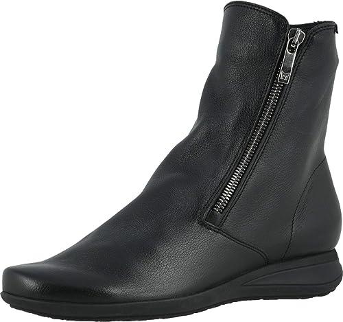 Mephisto Botas para Mujer Negro Negro Zapatos Botas