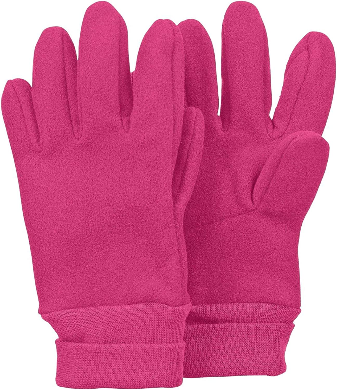 4331410 Sterntaler brombeer M/ädchen Handschuhe Fingerhandschuh Fleece