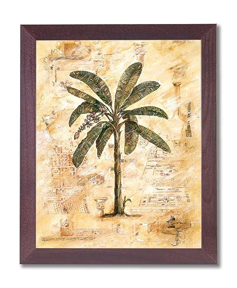 Amazon.com: Palm Tree Tropical Roman Ruins Home Decor Wall Picture ...
