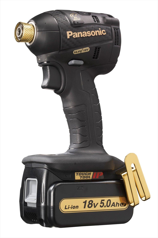 パナソニック(Panasonic) 充電インパクトドライバー ブラック&ゴールド【ブランド限定品】 EZ75A7LJ2GT1