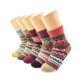 Winter socks, warm socks, AIMKE knitted socks, a variety of colors can be chosen (Female socks)