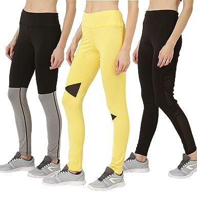 75e747e09a CHKOKKO Women's Solid Yoga Sports Stretchable High Waist Track Yoga Pant