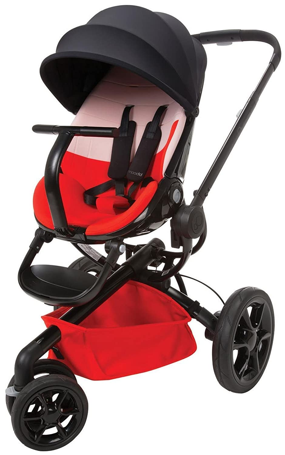 Quinny Moodd Stroller Colour Block Red
