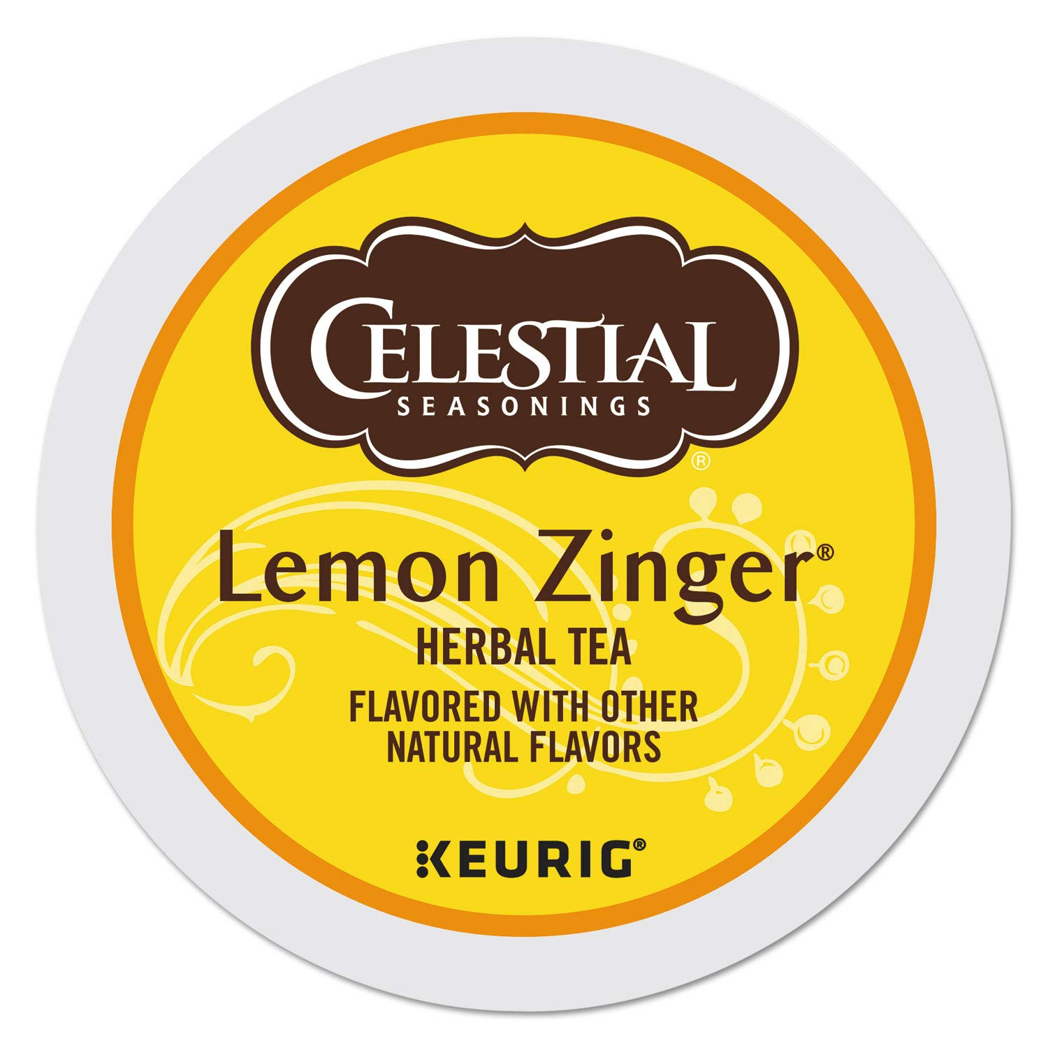 Celestial Seasonings Tea K-Cups, Lemon Zinger, 96-Count by Celestial Seasonings